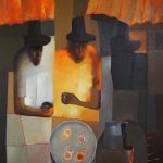 Los bebedores de café. LAPRENSA/A.Agüero