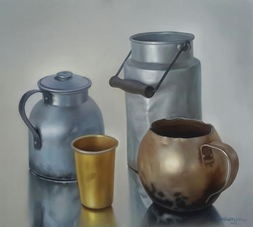 Tres picheles y vaso. LAPRENSA/CORTESÍA