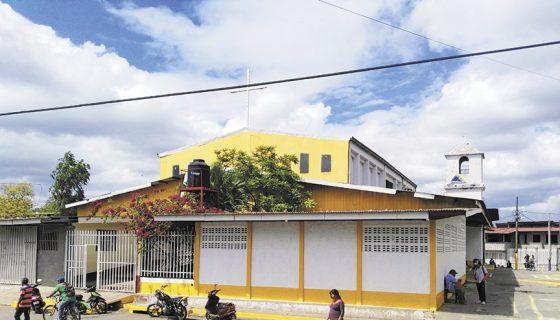 La iglesia Nuestra Señora María de Magdalena está ubicada en el corazón de Monimbó. LA PRENSA/ N.GALLEGOS