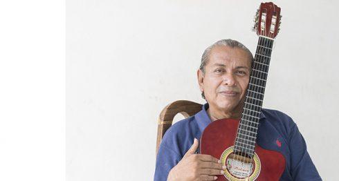Diego Aguirre, cantautor nicaragüense. LAPRENSA/LISSA VILLAGRA