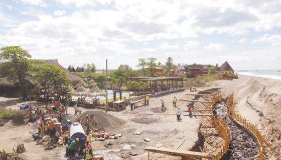 El proyecto turístico tiene una inversión de poco más de 16 millones de córdobas y se construirá en dos etapas. LA PRENSA/E. LÓPEZ