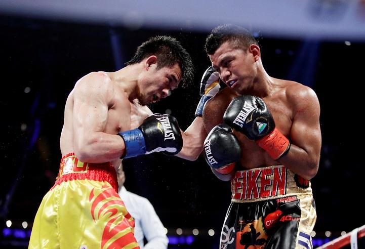 Román González espera tener una revancha inmediata con el tailandés Srisaket Sor Rungvisai. Foto: AP Photo/Frank Franklin II