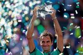 Roger Federer logra su quinto título en Indian Wells