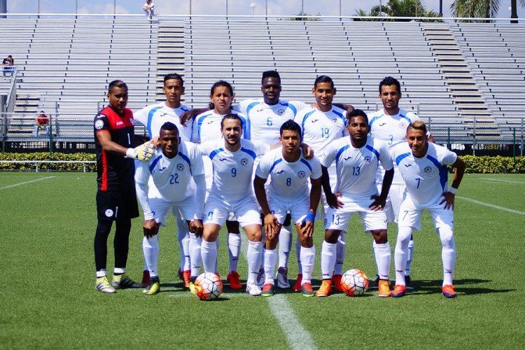 Este fue el once de la Azul y Blanco contra Miami United. LAPRENSA/ CORTESÍA/ FUTBOLNICA