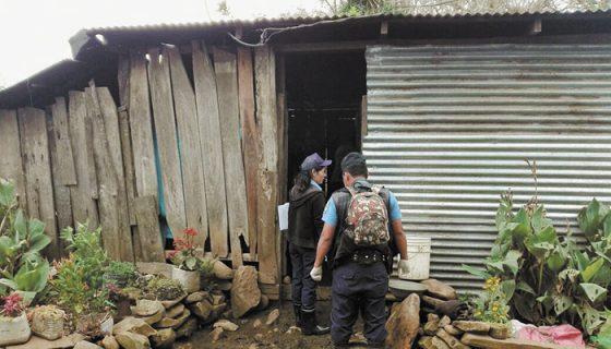 En una humilde casa de Jinotega y en presencia de sus dos hijos menores, un hombre mató a su expareja. LA PRENSA/CORTESÍA