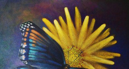 Flor en mariposa, de Blanca Isabella Guillén. LAPRENSA/A.AGÜERO