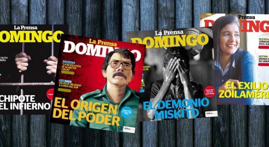 revista domingo, la prensa, periodismo, Nicaragua