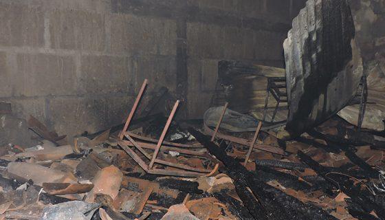 incendio, incendio en San Marcos