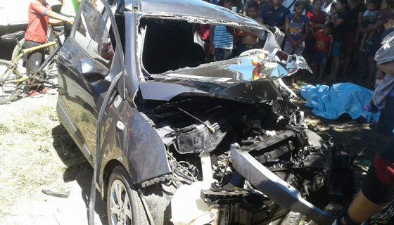 """El accidente ocurrió en el sector conocido como """"Las Esquinas"""". LA PRENSA/D.HERNÁNDEZ"""
