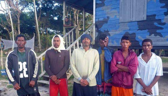 rescatan a pescadores, Caribe Norte, naufragio