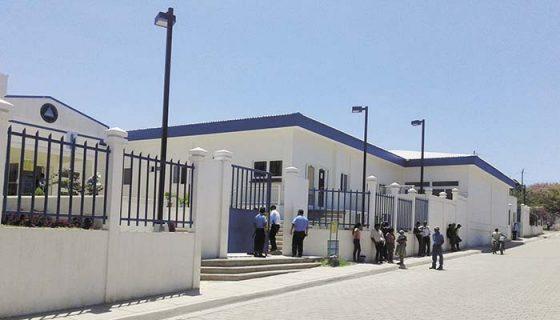 El acceso al Juzgado de Somoto fue restringido. La Policía ni siquiera dejó entrar a familiares de la víctima, tampoco al Cenidh. LA PRENSA/W.ARAGÓN