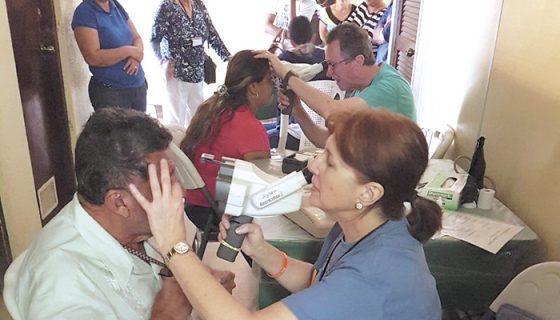 Cincuenta y nueve cirugías, en una semana, realizó la brigada NOMMS en Matagalpa. LA PRENSA/CORTESÍA