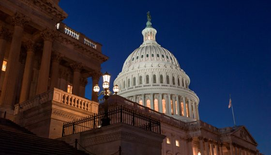 El Capitolio de Washington DC, en Estados Unidos. LA PRENSA / Agencias.