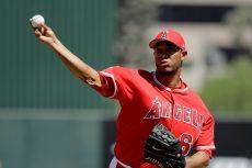 JC Ramírez tuvo otro entrada de pesadilla en el spring training de Grandes Ligas. LA PRENSA/AP/Darron Cummings