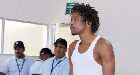Alvin Díaz Snim Jakins, único detenido por el delito de robo con intimidación. Priscila Gómez