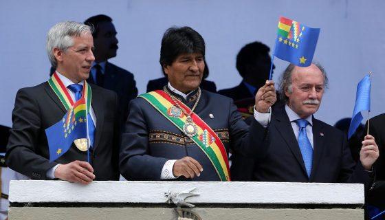 Evo Morales, Evo Morales con tumor benigno