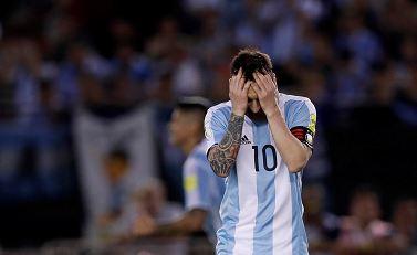 Messi durante el último partido ante Chile. LAPRENSA/EFE