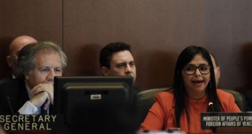 Para que la OEA tome las grandes decisiones entorno a Venezuela se necesita la aprobación de 24 de 35 Estados miembros. LA PRENSA/EFE