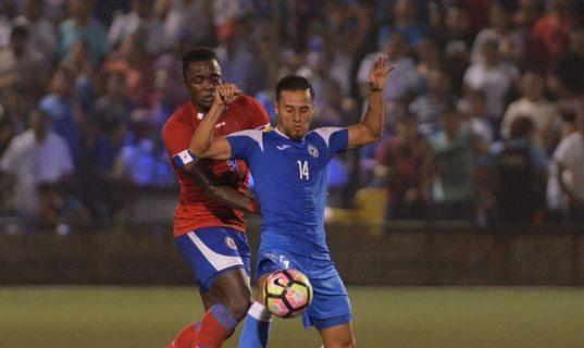 Eulises Pavón se destacó ante Haití. LAPRENSA/ JADER FLORES