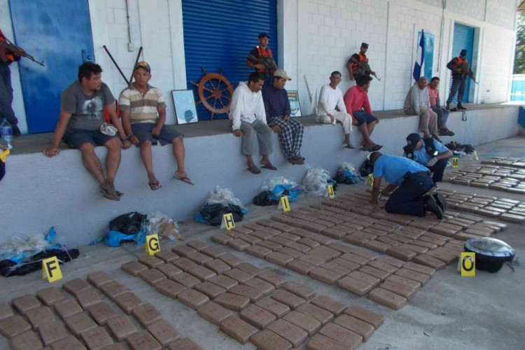 Nicaragua, DROGA, CRIMEN ORGANIZADO
