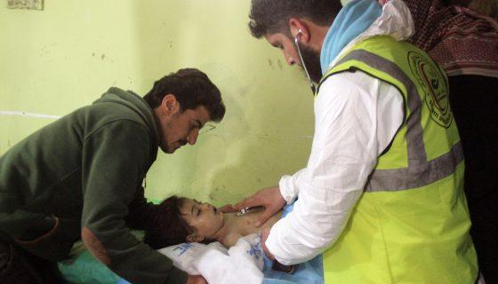ataque químico, Siria, niños