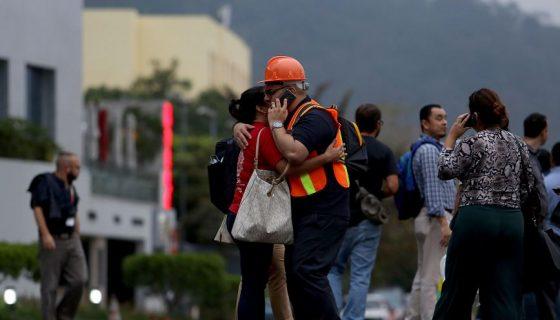El Salvador, sismos, enjambre sismico