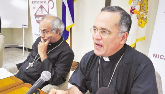 El obispo Silvio Báez señaló que no está previsto que la Conferencia Episcopal se pronuncie sobre la Nica Act.