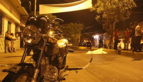 Muchas de las muertes registradas durante esta Semana Santa en Nicaragua fueron por accidentes de tránsito. LA PRENSA / E. López.