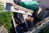 Vagos no respetan ni el cementerio en Diriamba