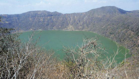 Apoyeque, volcán Apoyeque, volcanes de nicaragua, volcanes más peligrosos del mundo