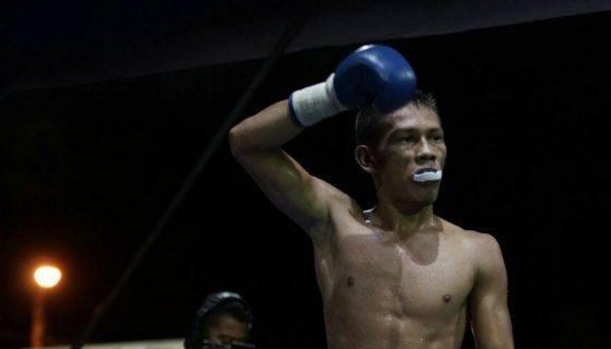 Ricardo Blandón se mantiene invicto en cinco combates en el boxeo rentado. FOTO: LA PRENSA/ CORTESÍA