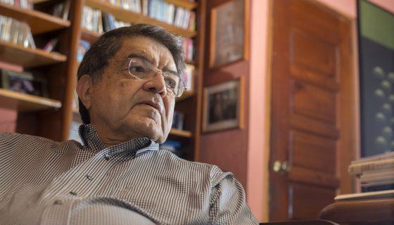 Sergio Ramírez, escritor nicaragüense. LA PRENSA / Lissa Villagra.