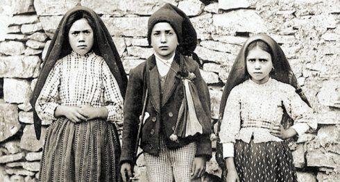 los santos más jóvenes, videntes de Fátima,