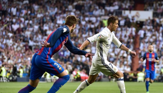 Real Madrid contra Barcelona