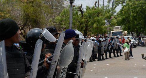 protesta campesina