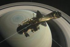 Cassini, Sonda Cassini, Saturno