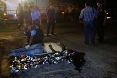 Hombre muere al estrellarse contra un monumento de la Virgen en Corinto
