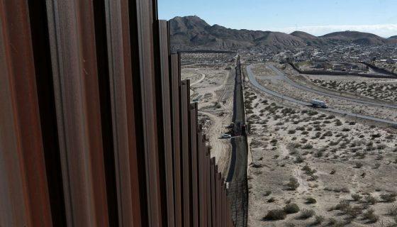 muro fronterizo