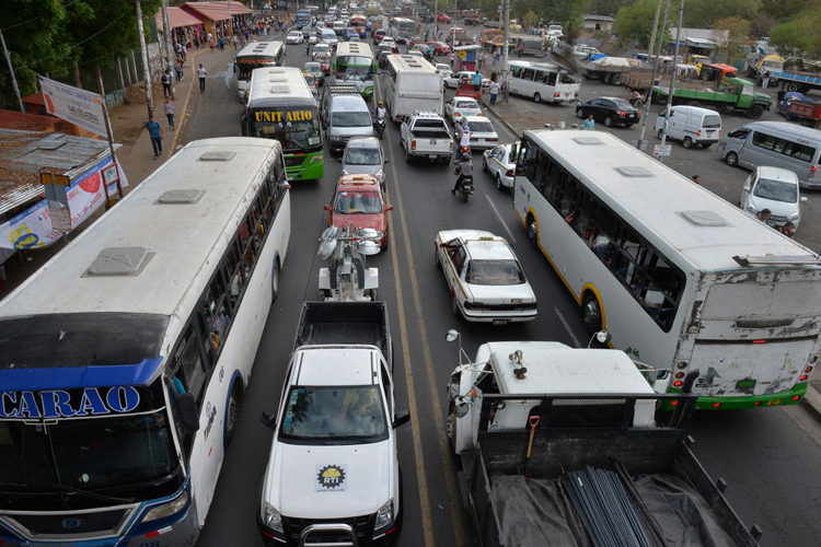 transporte masivo para Managua
