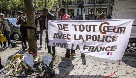 Campos Elíseos, Francia, ataque en Campos Elíseos