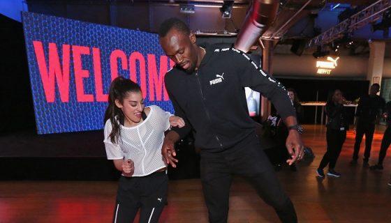 Usain Bolt correrá en el Mundial de Atletismo de Londres en agosto y después se retirará de las pistas. LA PRENSA/Rob Kim/Getty Images for Puma/AFP
