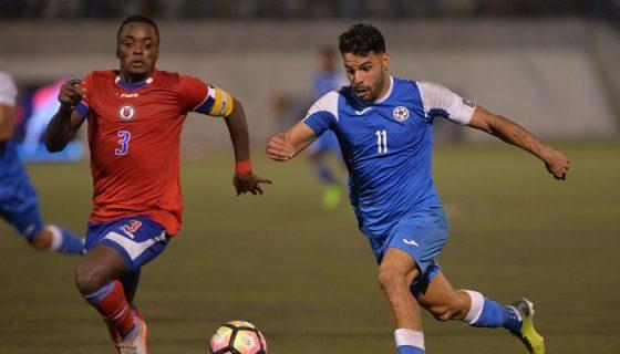La Selección Nicaragüense de Futbol se prepara para su participación en la Copa Oro. LA PRENSA/JADER FLORES