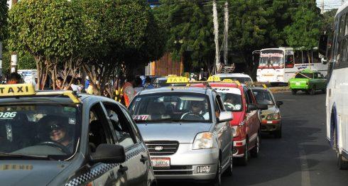 taxis Nicaragua, Uber, taxistas