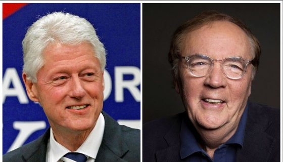 El expresidente de los Estados Unidos Bill Clinton y James Patterson coescriben novela de suspenso. LAPRENSA/AP