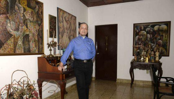 El jurista Julio Icaza Gallard, ex embajador nicaragüense lamenta la situación democrática del país, quees una dictadura.