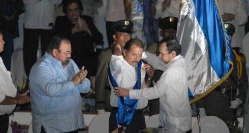 Daniel Ortega, René Núñez, Presidencia, 2007,