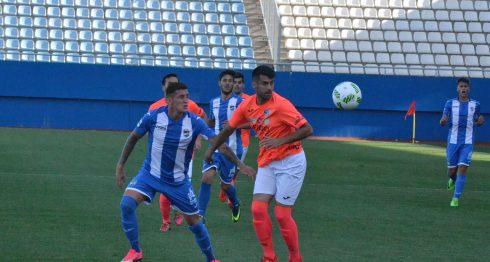 Jaime Moreno fue decisivo en la victoria de su club. Foto: Cortesía/ Lorca FC