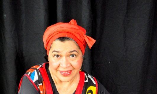 La teatrista Zoe Meza.