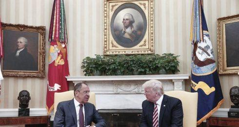 Donald Trump, Serguei Lavrov