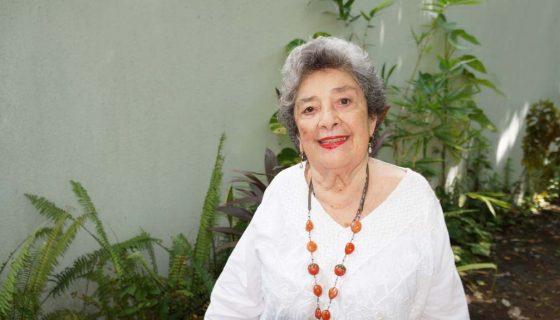 Poeta Claribel Alegría. LAPRENSA/Arnulfo Agüero